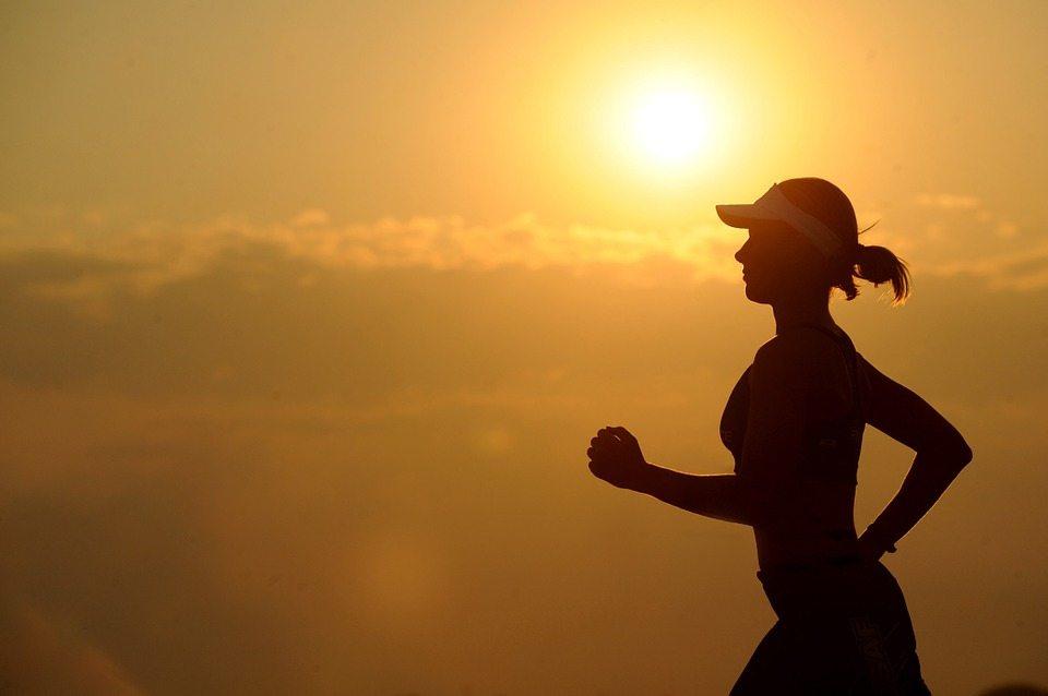 Fitness Running Long Distance Female Runner