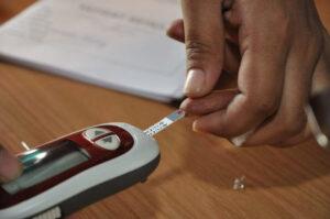 ความหมายเมื่อยล้าในภาษาฮินดี - โรคเบาหวาน