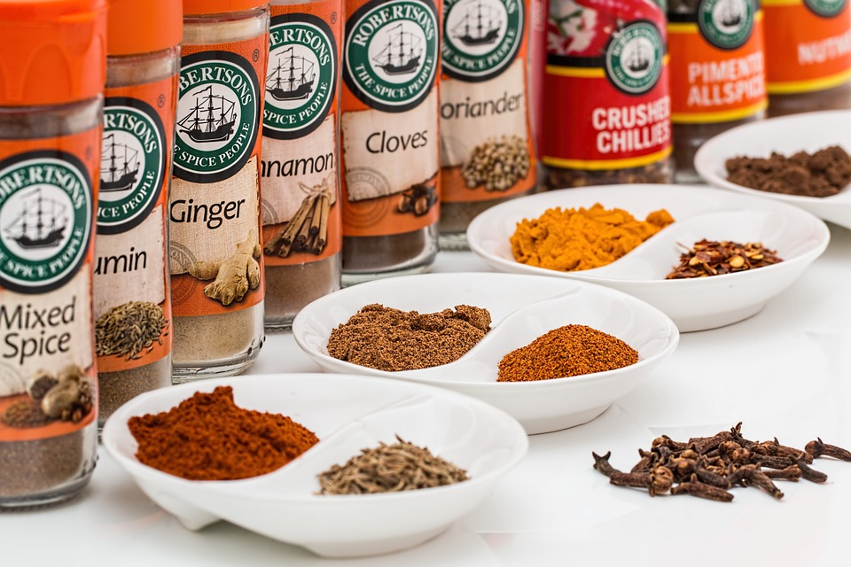 Indian spices - Antioxidant Food India
