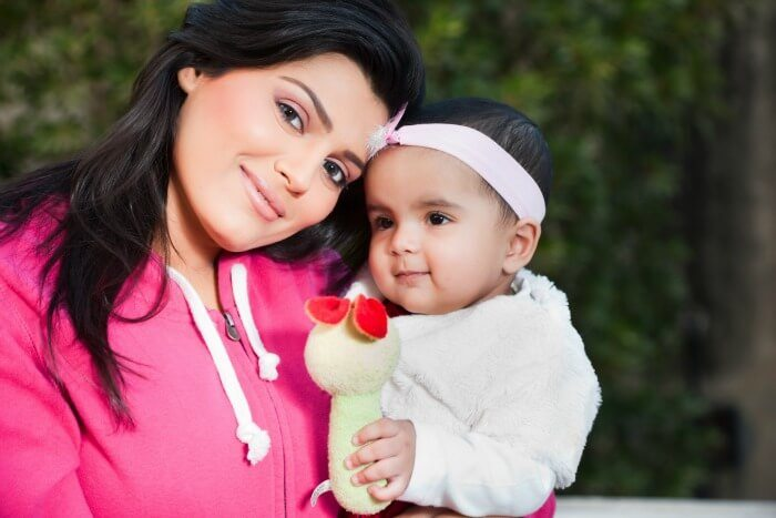 baby -mom