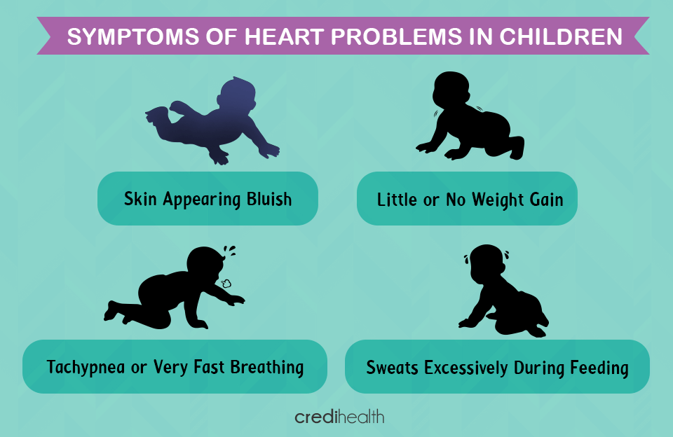 symptoms of heart problems