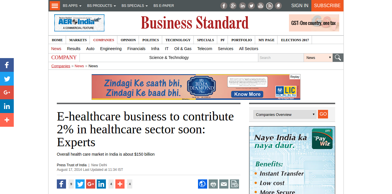 FireShot Capture 14 – E-healthcare business to contribute 2%_ – http___www.business-standard.com_a