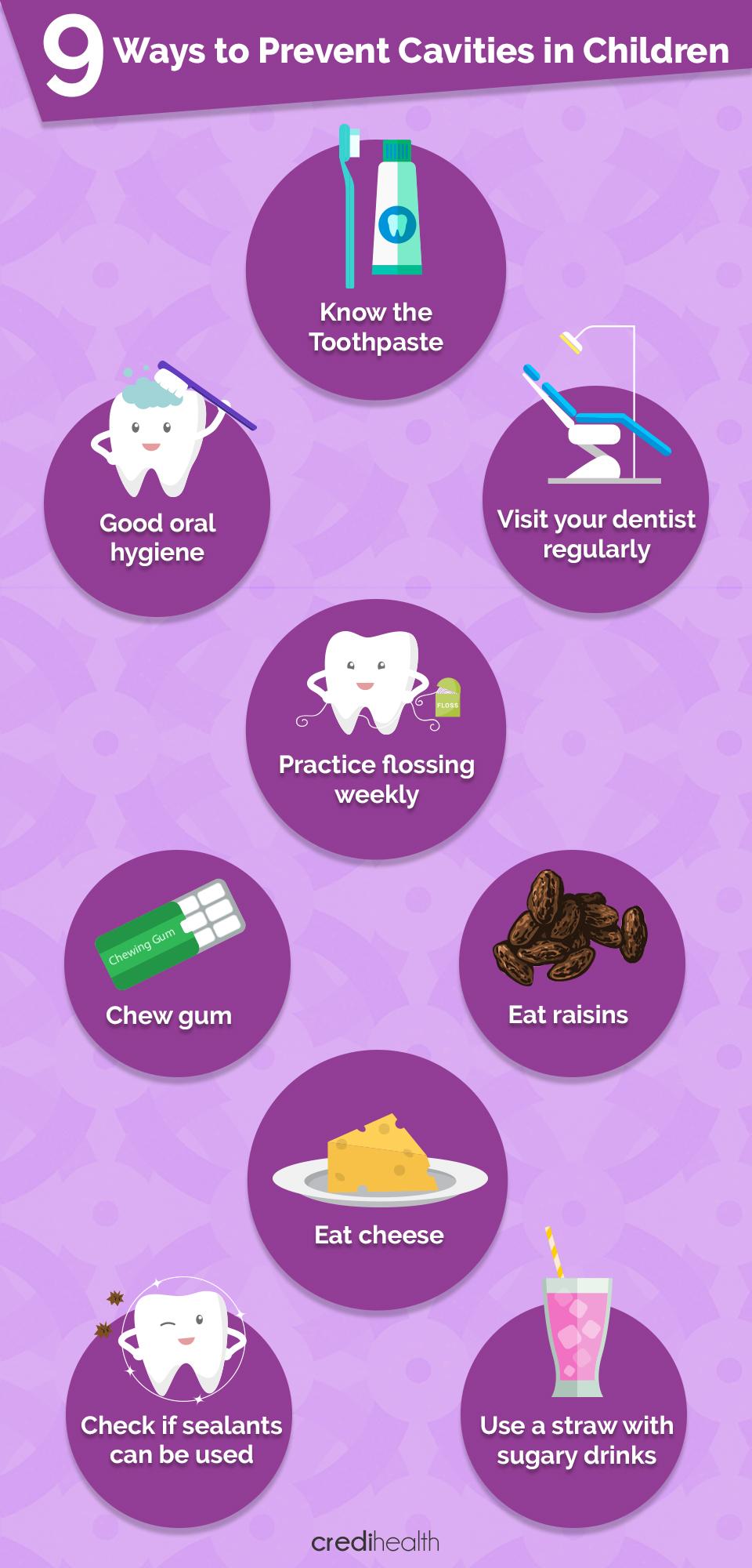 9 วิธีป้องกันฟันผุในเด็ก