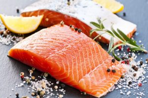 Foods that lower Cholesterol - Fatty Fish