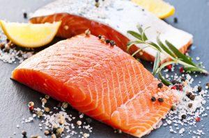 Foods that lower Cholesterol - Fatty Fish
