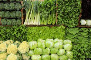 ลดน้ำหนักหลัง Diwali - ผักสีเขียว