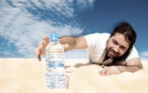 fatigue meaning in Hindi - dehydration