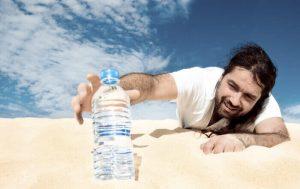 ความหมายเมื่อยล้าในภาษาฮินดี - การคายน้ำ