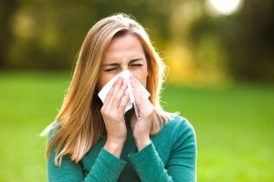 fatigue meaning in Hindi - food allergy