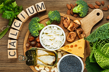 calcium rich Indian foods