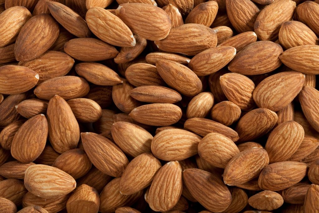 calcium rich indian foods - almonds