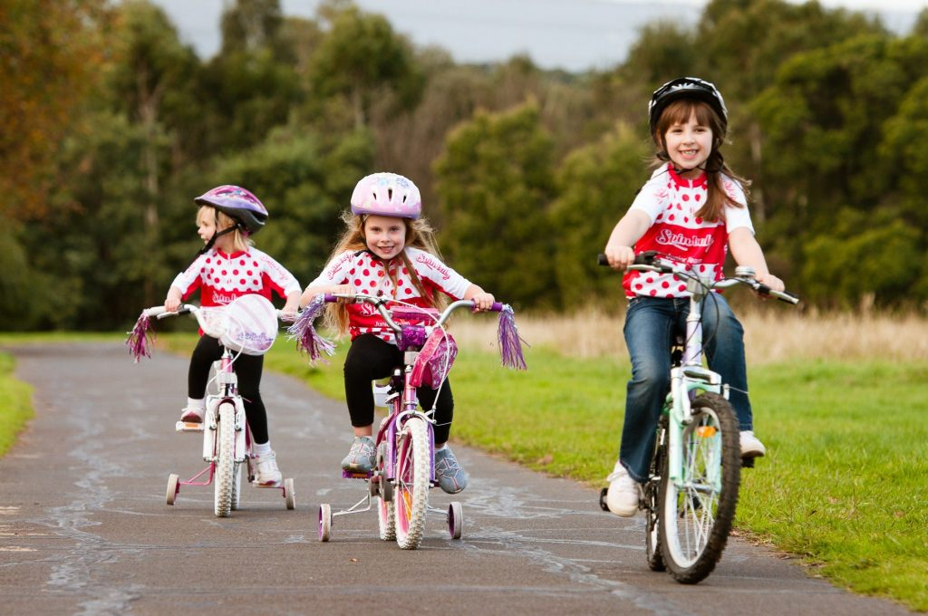 benefits of cycling - safety