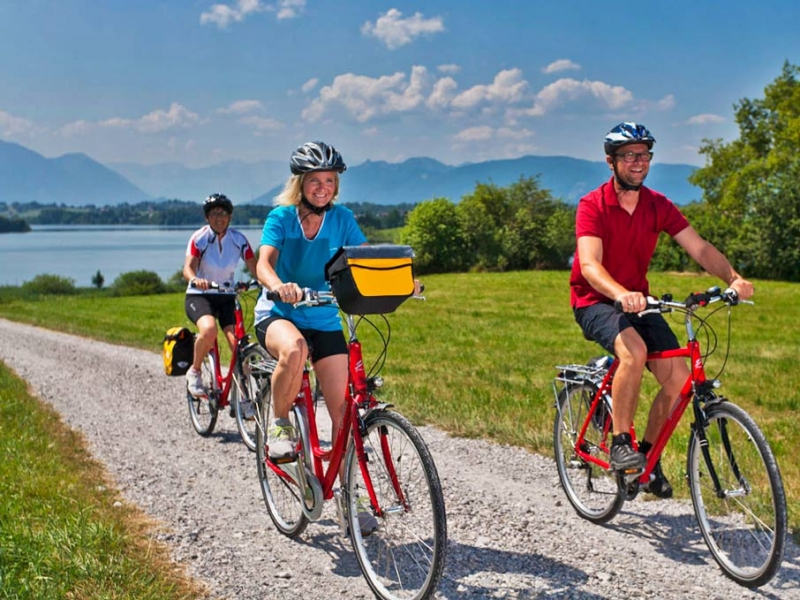 health benefits of cycling - less pain