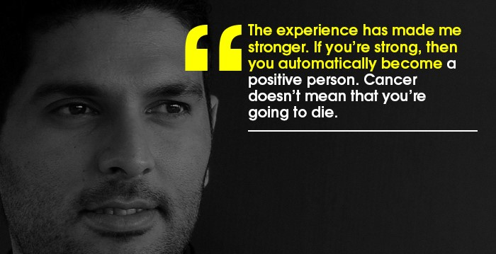 yuvraj singh cancer treatment story