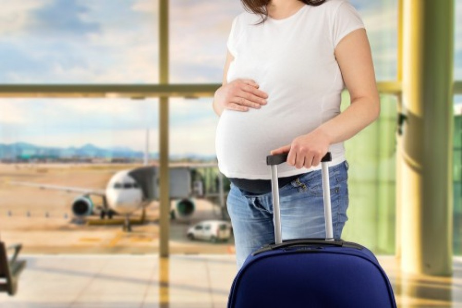 safe travel when pregnant