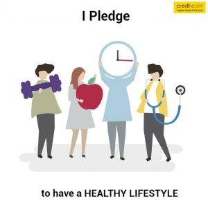 pledge - motivate healthy life