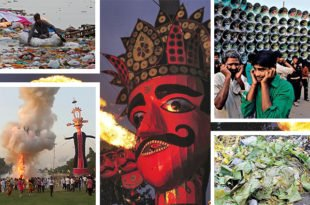 dussehra pollution