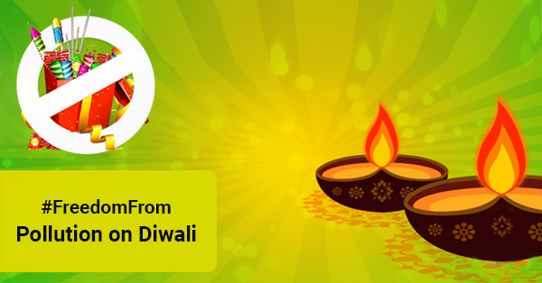 Freedomfrom Pollution on diwali