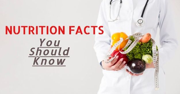 Nutrition facts you should know