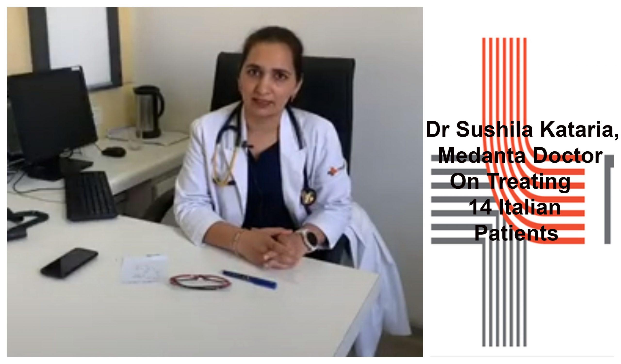 Dr Sushila Kataria, Medanta