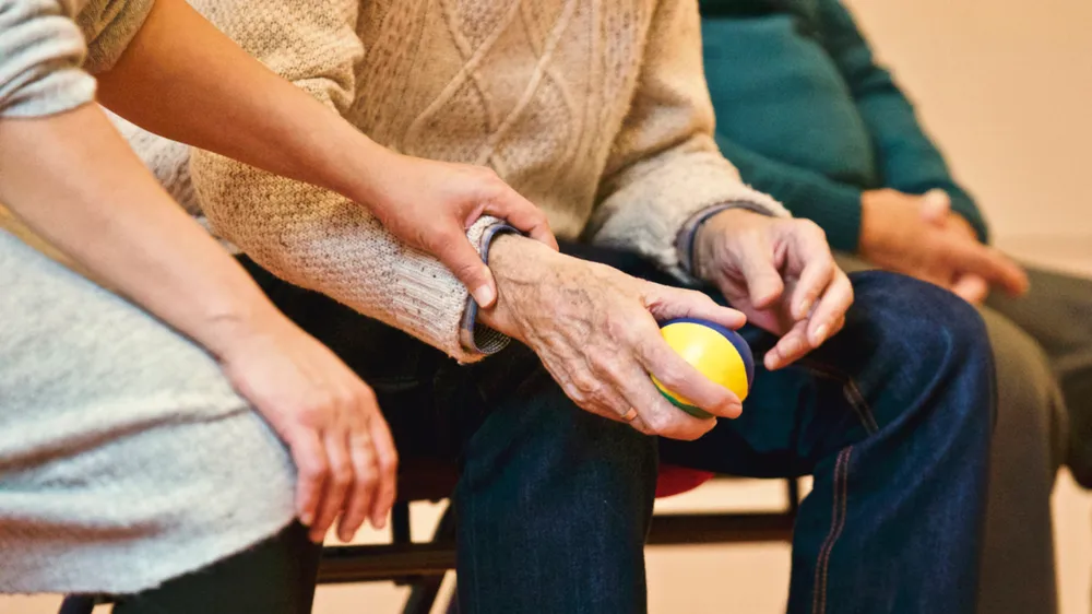 dementia care for old people